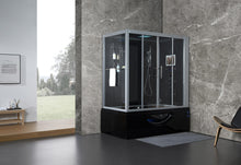 Load image into Gallery viewer, Maya Bath Catania Steam Shower - Black