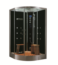 "Load image into Gallery viewer, Steam Planet Universe Plus Steam Shower 48"" x 48"" x 88"" WS105"