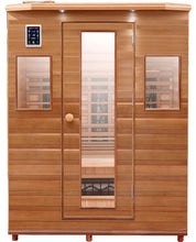 Load image into Gallery viewer, Health Mate - Enrich III Infrared Sauna front facing view with plain white background