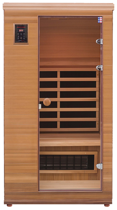 Health Mate - Renew I Infrared Sauna front facing view