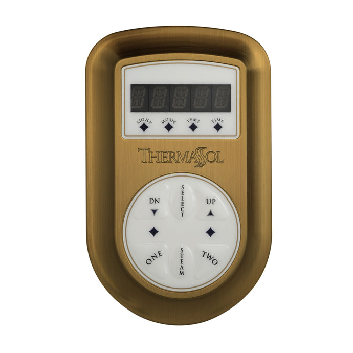 ThermaSol Steam Shower Signature Environment Control