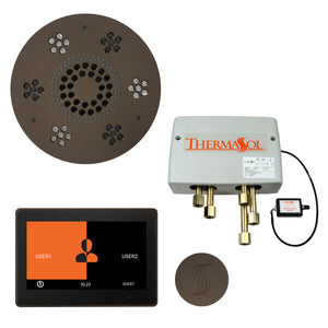 "The Total Wellness Package with 10"" ThermaTouch Trim Upgraded, by ThermaSol Oil Rubbed Bronze"