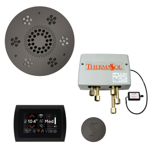 The Total Wellness Package with SignaTouch by ThermaSol round black nickel