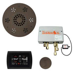 The Total Wellness Package with SignaTouch by ThermaSol round oil rubbed bronze