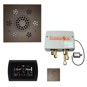 The Total Wellness Package with SignaTouch by ThermaSol square antique nickel