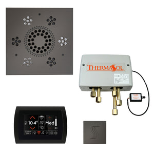 The Total Wellness Package with SignaTouch by ThermaSol square black nickel