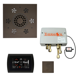 The Total Wellness Package with SignaTouch by ThermaSol square oil rubbed bronze
