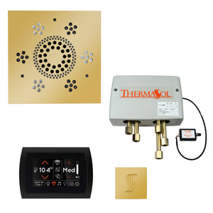 The Total Wellness Package with SignaTouch by ThermaSol square polished gold