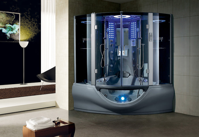 Maya Bath Valencia Steam Shower - Grey