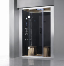Load image into Gallery viewer, Athena WS-112 59x36 Black Steam Shower