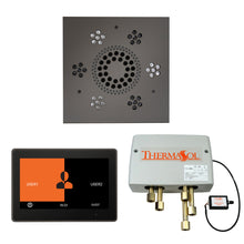 Load image into Gallery viewer, The Wellness Shower Package with ThermaTouch by ThermaSol 10 inch square black nickel