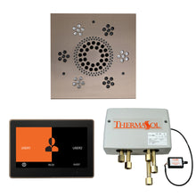 Load image into Gallery viewer, The Wellness Shower Package with ThermaTouch by ThermaSol 10 inch square satin nickel
