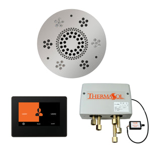 The Wellness Shower Package with ThermaTouch by ThermaSol 7 inch round polished chrome