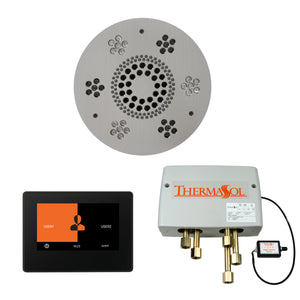 The Wellness Shower Package with ThermaTouch by ThermaSol 7 inch round satin chrome