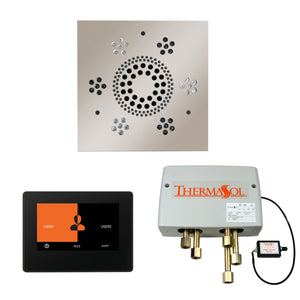 The Wellness Shower Package with ThermaTouch by ThermaSol 7 inch square polished nickel
