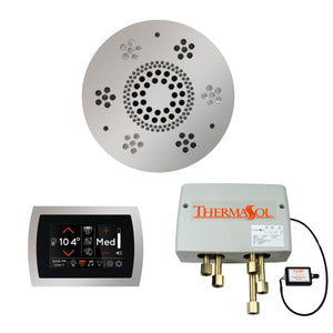 The Wellness Shower Package with SignaTouch Trim Upgraded by ThermaSol round polished chrome