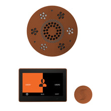 Load image into Gallery viewer, The Wellness Steam Package with ThermaTouch by ThermaSol 10 inch round antique copper