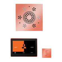Load image into Gallery viewer, The Wellness Steam Package with ThermaTouch by ThermaSol 10 inch square copper