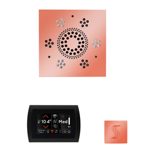 The Wellness Steam Package with SignaTouch by ThermaSol square copper