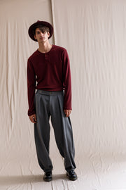 Hashmiya pants grey