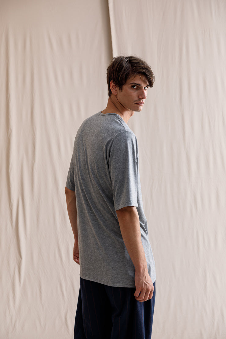 Route T-shirt light grey