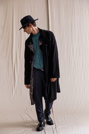 Sinner coat black