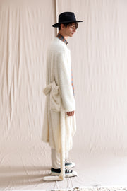 Mother long cardie off-white