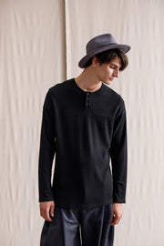Maziwa long-sleeved T-shirt black