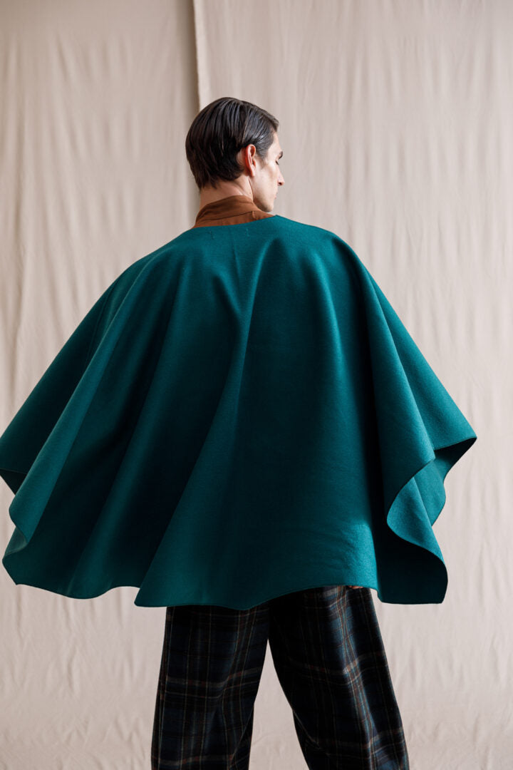 Madre poncho green