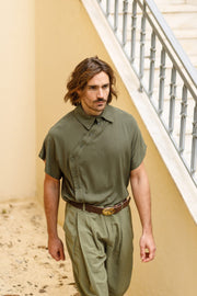 Tower shirt khaki