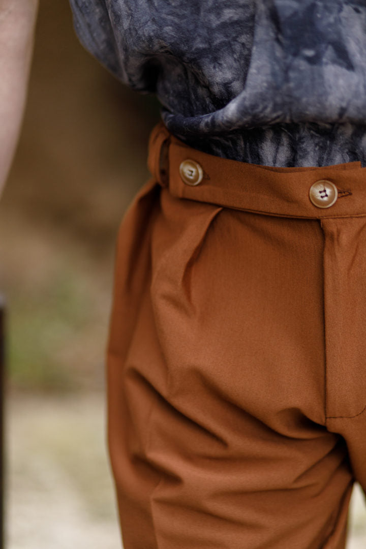 Burj bermuda shorts brown