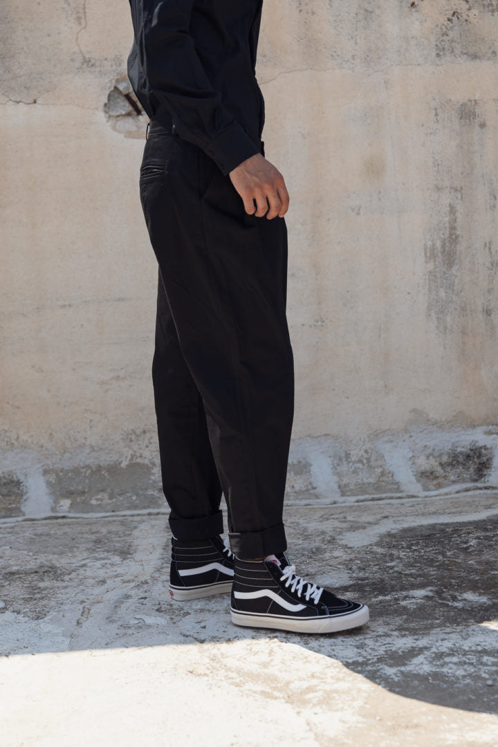Longus pants black