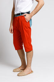 Appariton bermuda shorts orange