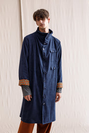 Sinner coat blue