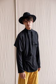 Aiti long-sleeved T-shirt black