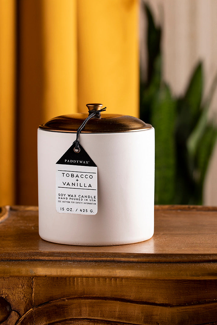 Tobacco & Vanilla candle 15oz