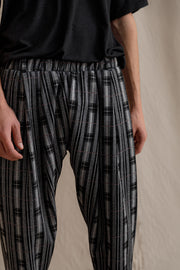 Jacopo pants plaid grey