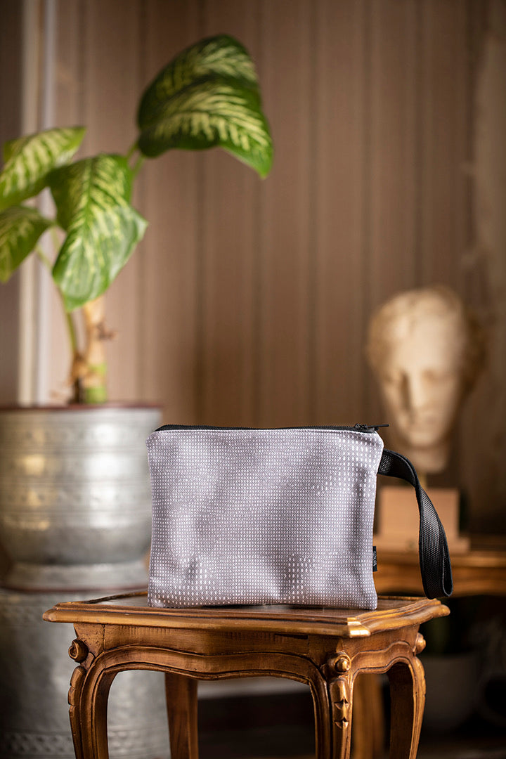 Solo clutch brut grey 25x20