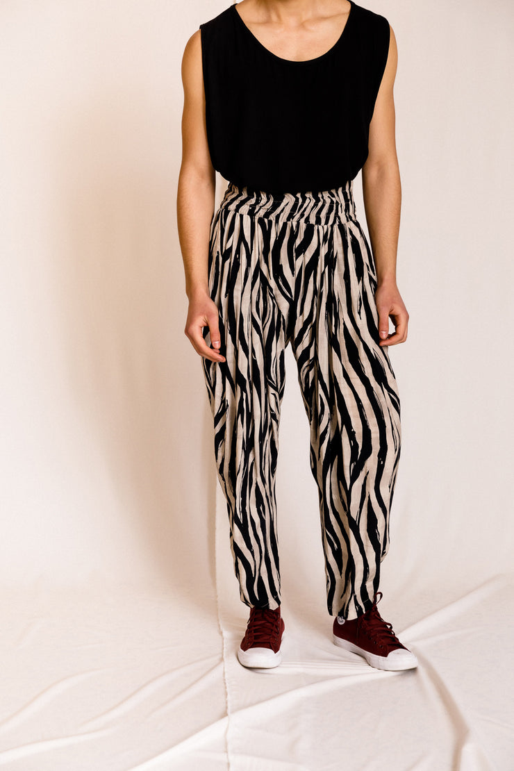 Pietro pants animal printed