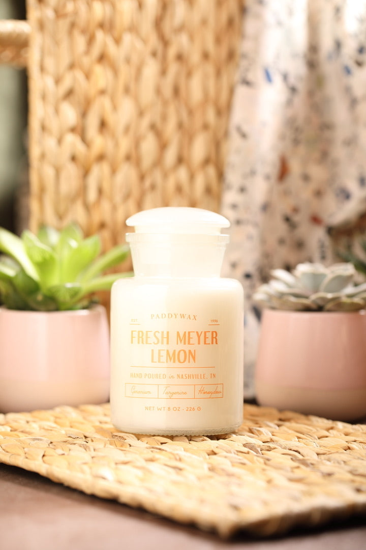 Fresh Meyer & Lemon candle 8oz