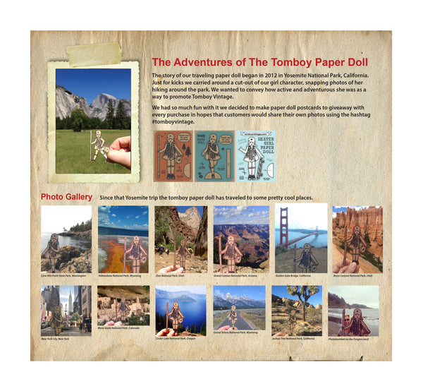 tomboy paper doll adventures national parks