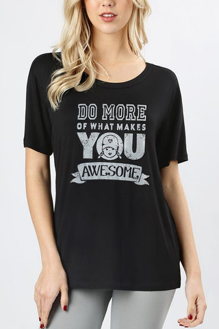 womens motivational quote shirt