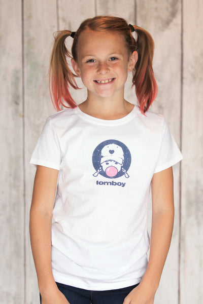 Tomboy Vintage T Shirt Girls Bubblegum Retro Tee