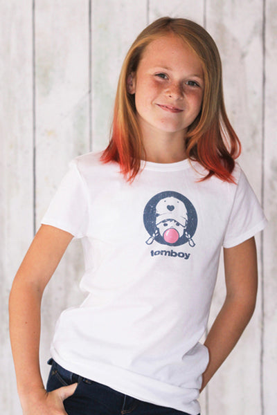 Girls Bubblegum Tomboy Tee