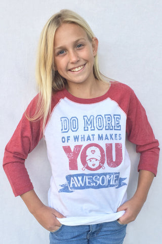 Juniors Clothing raglan baseball tee quote shirts
