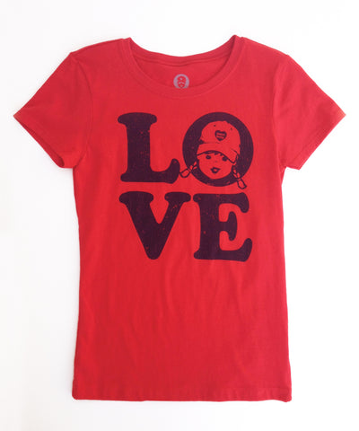 tomboy vintage t shirt girls love tee