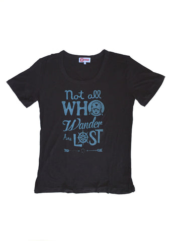Not All Who Wander Loose-Fit Tee