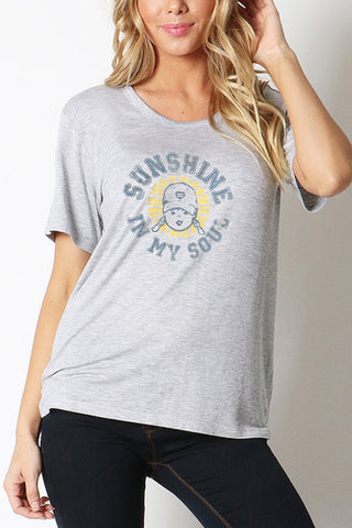 Sunshine In My Soul Loose-Fit Tee