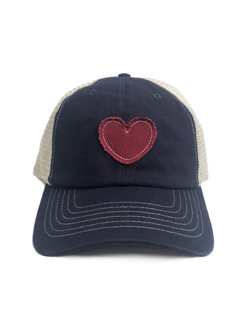 blue baseball hat trucker hat for women