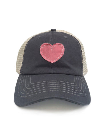 Trucker Hat For Women Vintage Baseball Cap Gray